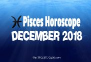 Pisces December 2018 Horoscope